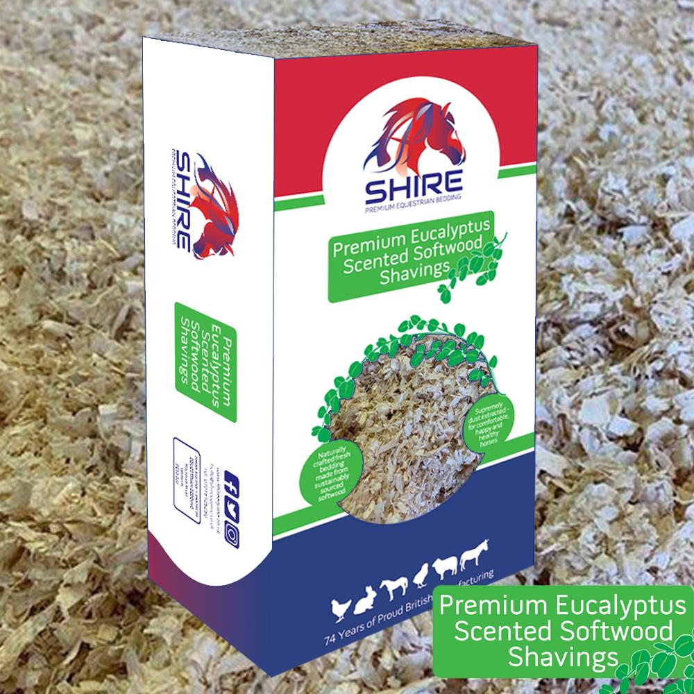 Premium Eucalyptus Scented Softwood Shavings