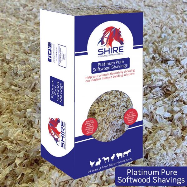 Platinum Pure Softwood Shavings